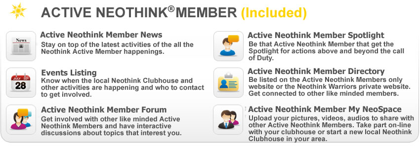 Mark Hamilton - Active Neothink Member