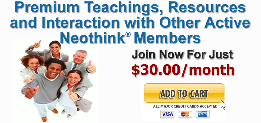 Join Now - Mark Hamilton's Active Neothink Member
